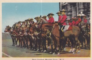 CANADA, 1900-1910s; Royal Canadian Mounted Police