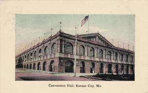 KANSAS CITY, Missouri, PU-1909; Convention Hall