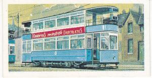 Trade Cards Brooke Bond Tea Transport Through The Ages No 28 Electric Tram