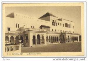 Casablanca, Morocco, Le palais du Sultan,1910-20s
