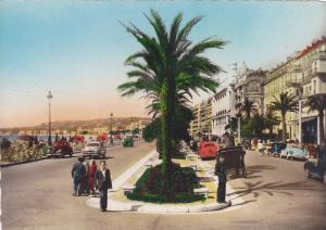 RP; Hand-colored, NICE, La Promenade des Anglais, La Cote D'Azur, Alpes Marit...
