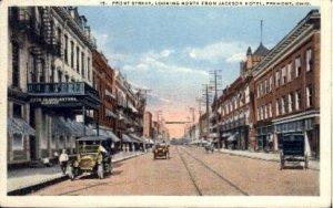 Front Street, Jackson Hotel - Fremont, Ohio