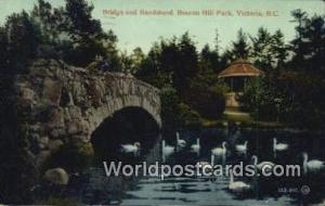 British Columbia, Canada Bridge & Bandstand, Beacon Hill Park Victoria  Bridg...