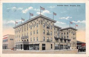 Douglas Arizona Gadsden Hotel Exterior View Antique Postcard J47843