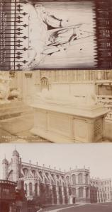 Windsor Castle Princess Charlottes Cenotaph Prince Imperial 3 Old RPC Postcard s