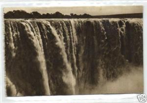 rhodesia, VICTORIA FALLS, Main Fall, Full Flood (1930s)