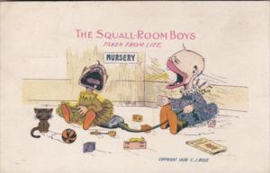 Babies In Ursery The Squall-Room Boys 1913