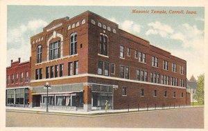 Masonic temple Carroll, Iowa