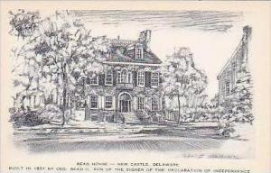 Delaware New Castle Read House Built in 1801 by Geo Read II Artvue