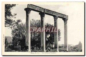 Old Postcard The Laugh Roman columns