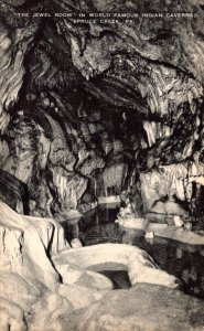 Pennsylvania Spruce Creek Indian Caverns The Jewel Room