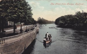 BEDFORD , England , PU-1907 ; The river from the Bridge