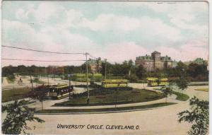 Ohio  Cleveland University Circle Trolley Turn Around