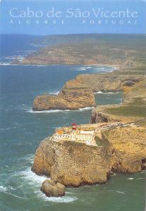 Portugal Cabo de Sao Vicente Algarve Air view