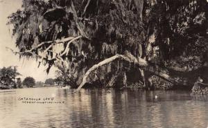 Martinville Louisiana Catahoula Lake Real Photo Antique Postcard K100348