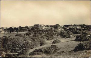 south africa, PORT SHEPSTONE, Panorama (1930s) RPPC