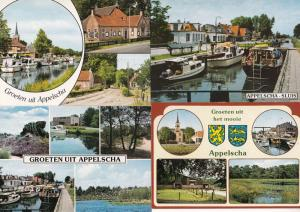 Appelscha Sluis Holland 4x Postcard s