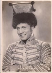 Austrian actor Wolf Albach-Retty