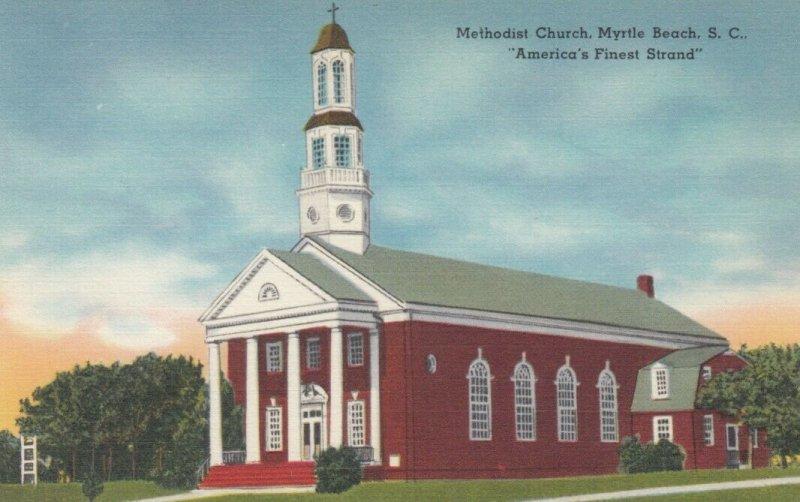 MYRTLE BEACH, South Carolina, 30-40s; Methodist Church