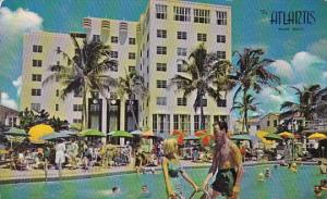 Florida Miami Beach The Atlantis Hotel Pool and Cabana Club