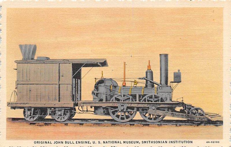 General John bull engine, US national Museum Smithsonian Institution, USA Rai...