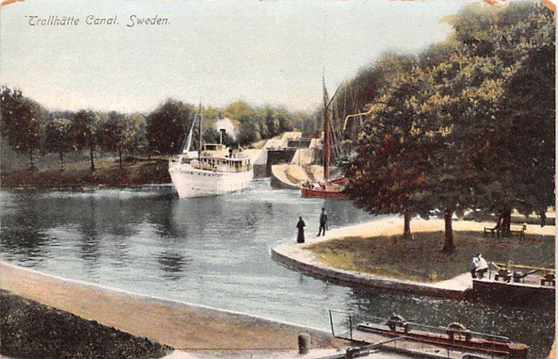 Trollhatte Canal Sweden Spain Unused