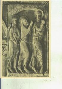 Postal 014015: Los discipulos de Emaus en el claustro de el Monasterio de San...