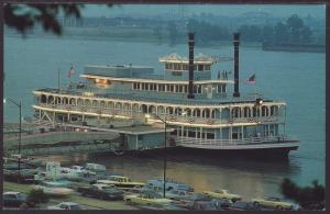Robert E Lee,Riverboat Restaurant,St Louis,MO Postcard