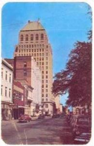 St. Francis Street, Looking East, Mobile, Alabama, 1940-1960s