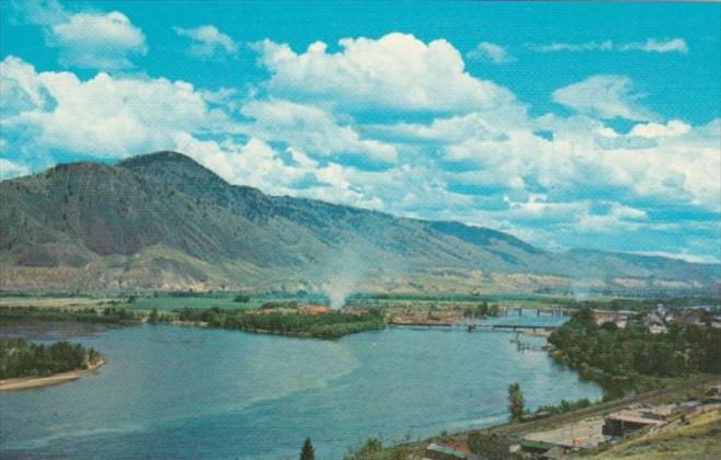 Canada Meeting Of South and North Thompson Rivers Kamloops British Columbia