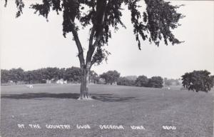 Iowa Osceola Country Club Real Photo