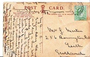 Genealogy Postcard - Family History - Martin - Leith - Scotland  A1484