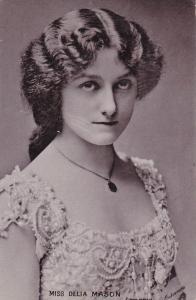 TUCK #1293, PU-1905; Portrait of Miss Delia Mason, Theater actress