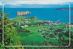 Canada Aerial View Perce Quebec