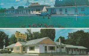 CLAYTON , New York , 1950-60s ; New C-WAY Tourinn Restaurant & Motel
