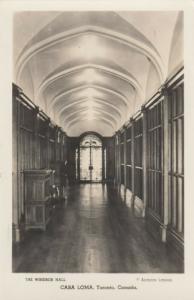 RP, TORONTO, Ontario, 30-50s; Casa Loma , The Windsor Hall