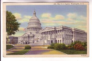 US Capital, Washington, DC, Scenic Art Series, BS Reynolds Co