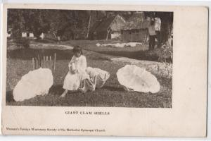 Giant Clam Shells, Woman's Foreign Missionary