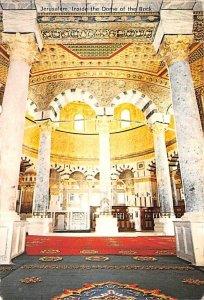 Inside the Dome of the Rock JerUSA lem Israel Unused