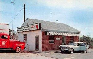 Lynchburg Virginia Crutchfield Cleaners Laundry Advertising Postcard AA232