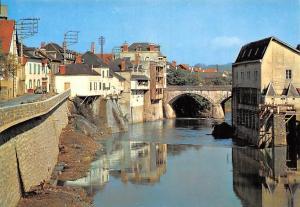 France Mauleon-Soule Les Bords du Saison Pont River Bridge Bruecke