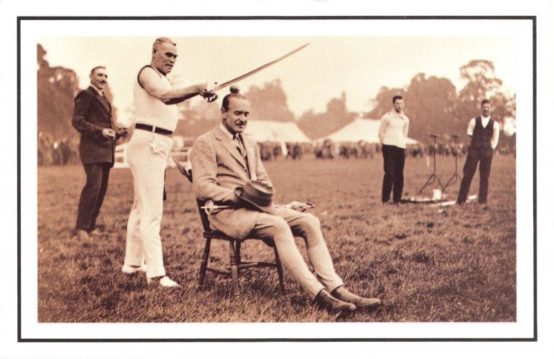 Nostalgia Postcard 1922 Athletics Meeting at Gunnersbury Reproduction Card NS46