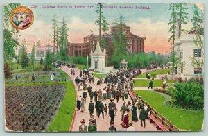 Seattle WA~Alaska-Yukon-Pacific Expo~Pacific Ave Looking North~AYPE X90~Postcard