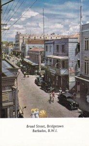 BARBADOS, British West Indies, 1920-30s; Broad Street, Bridgetown