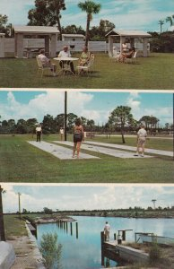 FORT MYERS, Florida, 1940-60s; 3-Views, Charlotte Shores Apartments