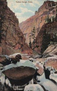 COLORADO, PU-1919; Toltec Gorge
