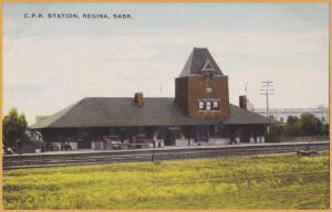 Regina, Saskatchewan- Canadian Pacific Railway Station