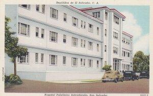 EL SALVADOR , 1910s ; Hospital Policlinica Salvadorena , SAN SALVADOR