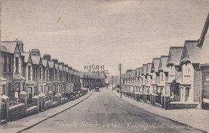 P1859 old postcard pisgab street kenfig hill united kingdom