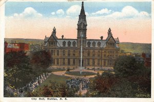 Canada Halifax Nova Scotia City Hall Postcard